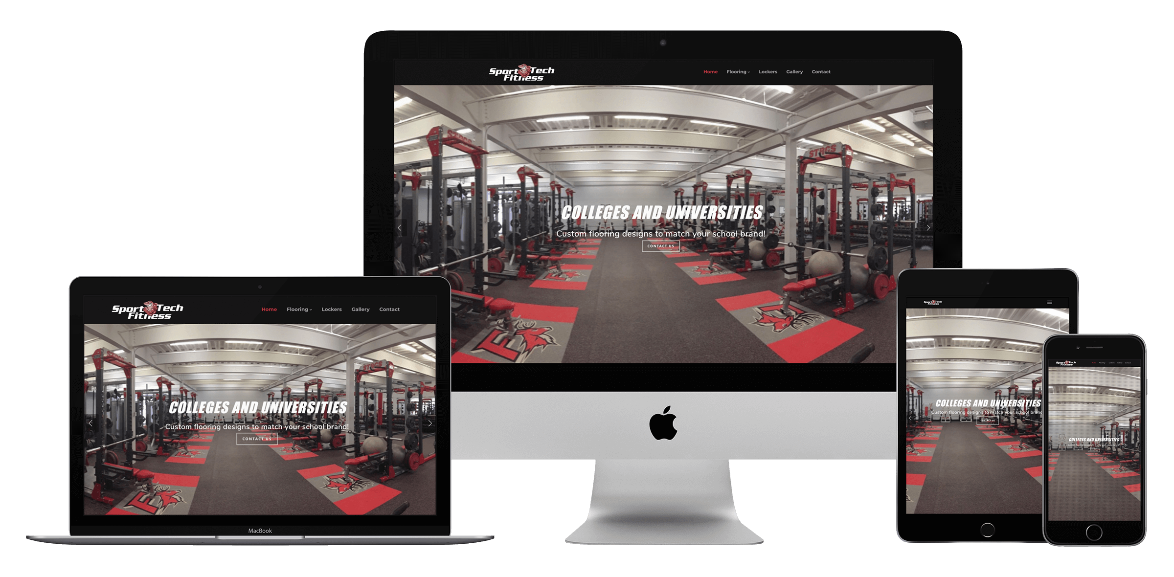 sports and gym marketing and web design